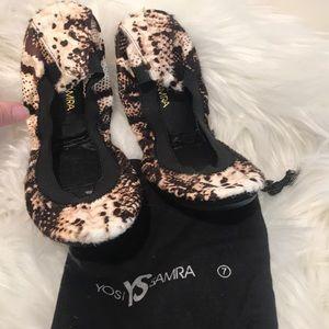 Yosi Samra shoes NWOT